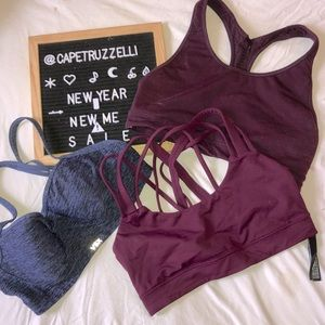 3 FOR $15‼️ 3 Sports Bra Lot